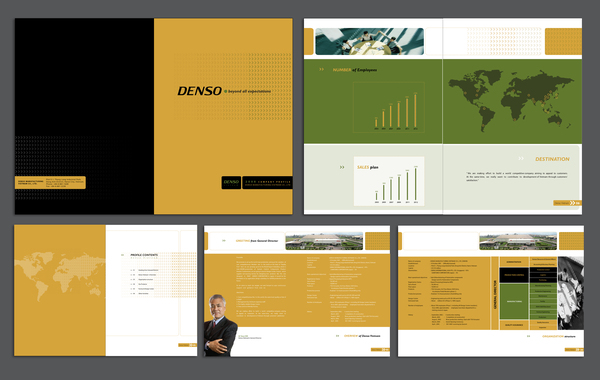 Company profile design soul creative studio for Company portfolio template doc